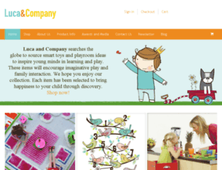 lucaandcompany.com screenshot