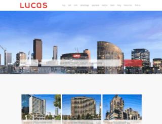 lucasre.com.au screenshot