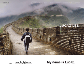 lucazlee.com screenshot