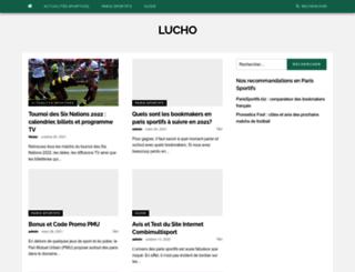lucho.fr screenshot