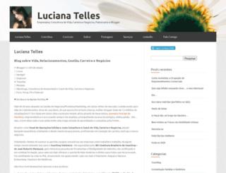 lucianatelles.me screenshot