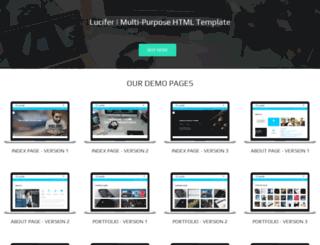 lucifer.mkscoder.com screenshot
