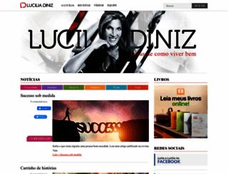 luciliadiniz.com.br screenshot