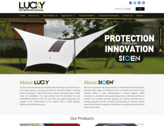 luckyinternational.net screenshot