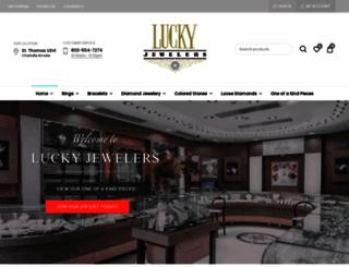 luckyjewelers.com screenshot