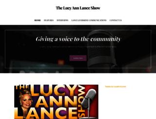 lucyannlance.com screenshot