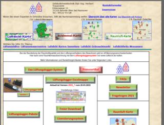 luftdicht.de screenshot