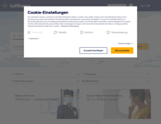 lufthansa.de screenshot