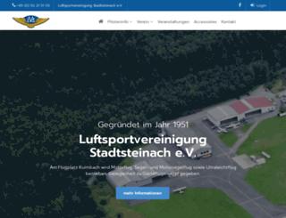 luftsportverein-stadtsteinach.de screenshot