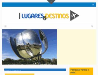 lugaresedestinos.com.br screenshot