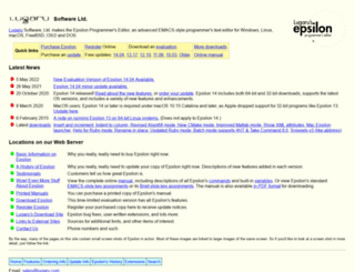 lugaru.com screenshot