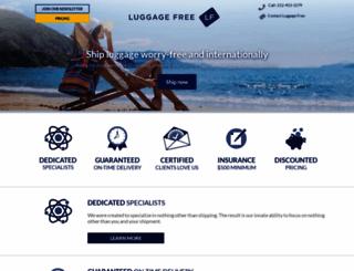 luggagefree.com screenshot
