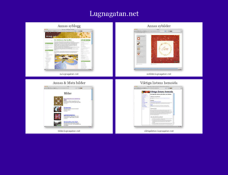 lugnagatan.net screenshot