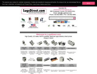 lugsdirect.com screenshot