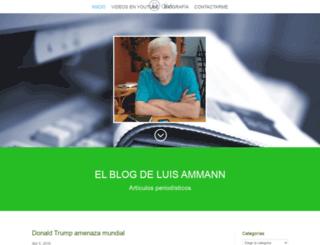 luisammann.com.ar screenshot