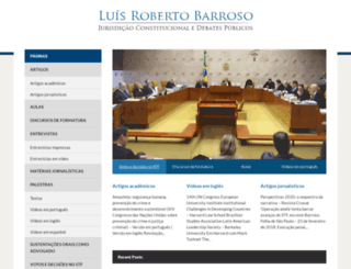 luisrobertobarroso.com.br screenshot