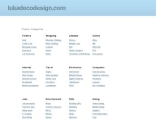 lukadecodesign.com screenshot
