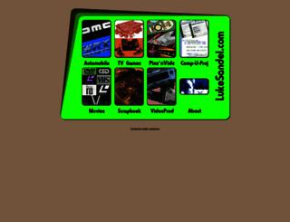 lukesandel.com screenshot