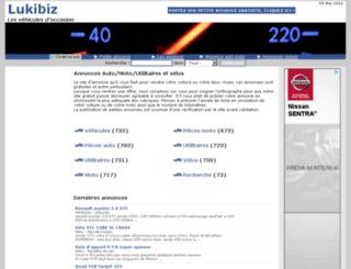 lukibiz.fr screenshot