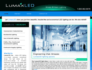 lumaxled.com screenshot