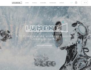 lumene-screens.com screenshot