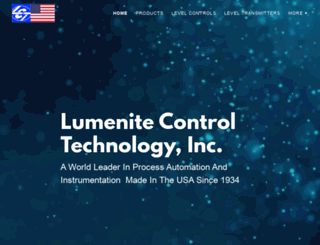 lumenite.com screenshot