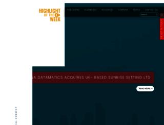 luminadatamatics.com screenshot