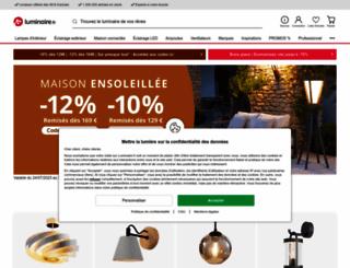 luminaire.fr screenshot