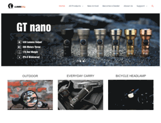lumintop.com screenshot
