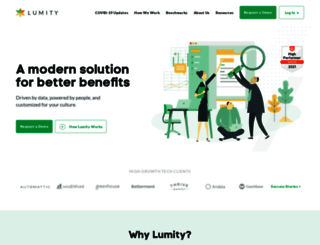 lumity.com screenshot
