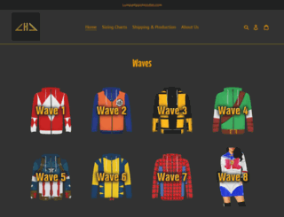 lumpyhippohoodies.com screenshot