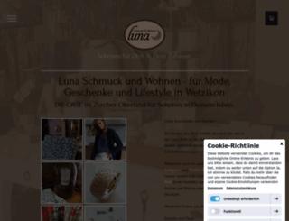 luna-schmuck.ch screenshot
