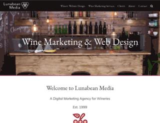 lunabeanmedia.com screenshot