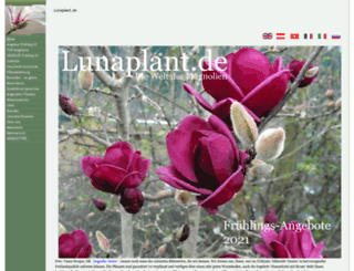 lunaplant.de screenshot