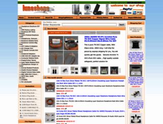 lunashops.com screenshot