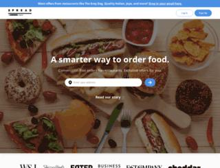 lunchspread.com screenshot