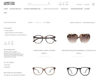 lunettes-kollektion.com screenshot