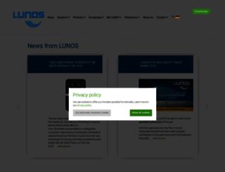 lunos.de screenshot