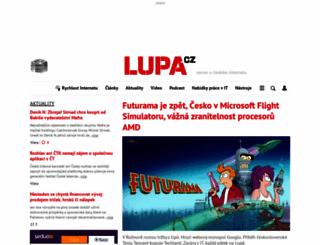 lupa.cz screenshot