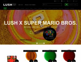 lush-shop.ch screenshot