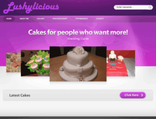 lushylicious.co.uk screenshot