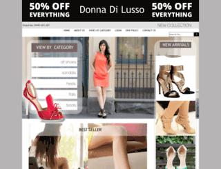 lussoshoes.com.au screenshot