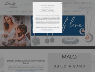 lustigjewelers.com screenshot