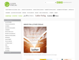 lutherforlag.no screenshot