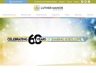 luthermanor.org screenshot