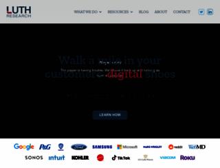 luthresearch.com screenshot
