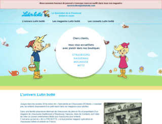 lutinbotte.com screenshot