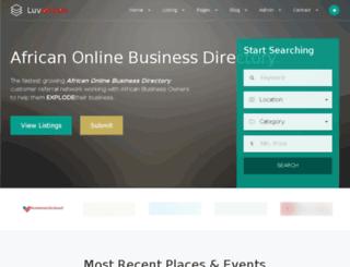 luvafrican.com screenshot