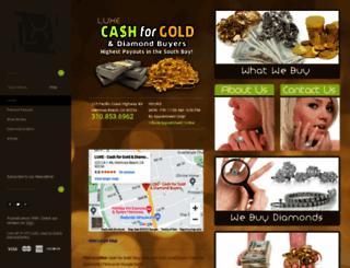 luxecashforgold.com screenshot