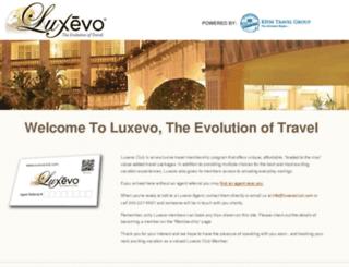 luxevoclub.com screenshot